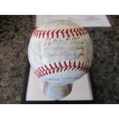 1977 All Star Game Signed Baseball